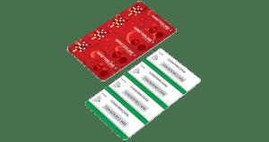 ISO Standard Card